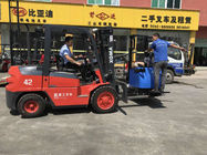 China 3.8 Ton Diesel Forklift Truck With 3~6m Deliberate Wide View Mast CE Certificated company