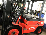 China Automatic Diesel Powered Forklift , 3 Ton Diesel Forklift Strong Powertrain System company