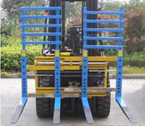 China Class 2 Forklift Truck Attachments Flexible Single / Double Pallet Handler factory