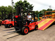 China 3-6 Meters Lifting Internal Combustion Forklift For Paper Roll Handling factory