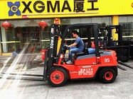 China 3m Lifting Height Internal Combustion Forklift 2 Stage With High Power AC Motor factory