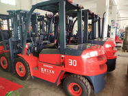 China Compact Structure 3 Ton Forklift 3000mm Max Lifting Height With Superior Passage Capacity company
