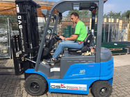 Lifting Height 3m 2 Ton Battery Powered Lift Trucks With AC Motor Power Souce