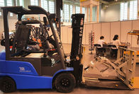 China AC Drive Motors Battery Powered Forklift 3m 2.5T Electric Counterbalance Truck factory
