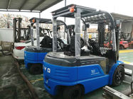 China BYD 3.5T Electric Counterbalance Forklift Truck With Pneumatic Tyres , Longlife factory