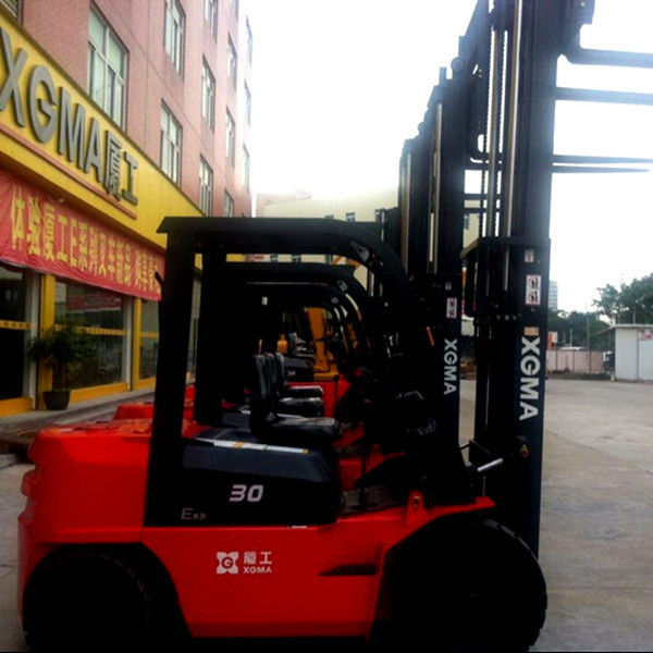 3 Ton Side Shift Forklift , Electric Lifts For Warehouse Energy Saving Hydraulic System
