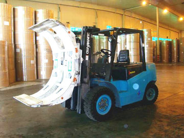 750mm Pad Size Forklift Truck Attachments Rotating Paper Roll Clamp