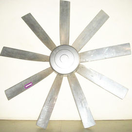 Direct Motor Type Axial Flow Fan , Warehouse Ceiling Fans Aluminum Material