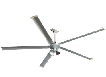 380V/220V Warehouse Ceiling Fans 15 Years Long Life Span 56r / Min Revolving Speed